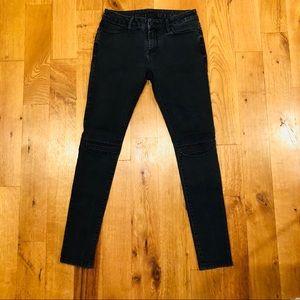 One Last Road Black Moto Jeans 🏍